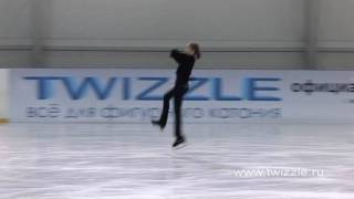 Тулуп (1 оборот) в исполнении Аделины Сотниковой