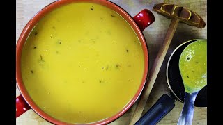 15 Minute Split Peas Dhal (soup) #MeatFreeMonday | CaribbeanPot.com