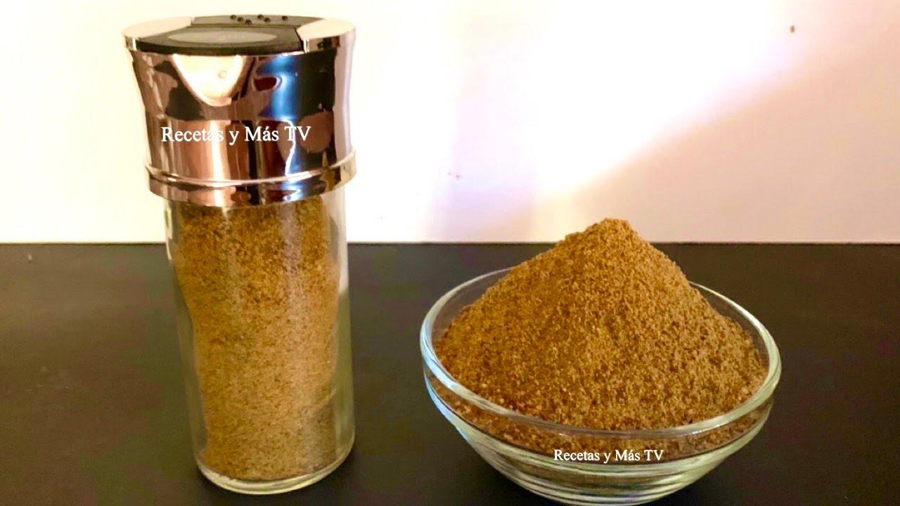 Como hacer Consomé de Pollo en Polvo con Preservantes Naturales