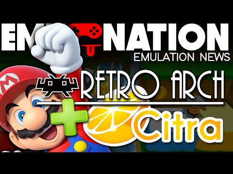 EMU-NATION: RetroArch gets 3DS Core plus many MORE! - YouTube