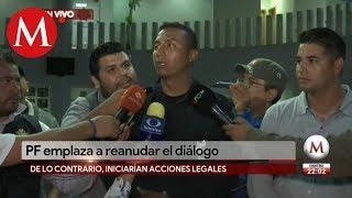 Policía Federal emplaza al gobierno a reanudar diálogo