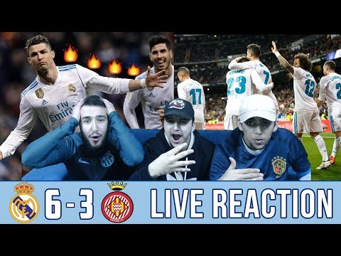 RONALDO 4 GOALS SHOW 🔥 | REAL MADRID 6-3 GIRONA | REACTION