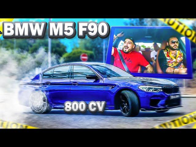 O BMW M5 COM 800 CV !!! *GIVEAWAY*