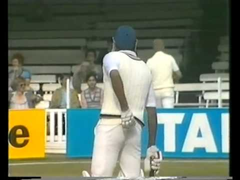 Kapil Dev 89 off 55 balls 1st test vs England 1982