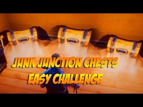 Search Junk Junction Chests without Fighting Anyone!