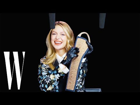 Supergirl Melissa Benoist Explores ASMR with Wonder Woman Bracelets and Catwoman Claws  W Magazine