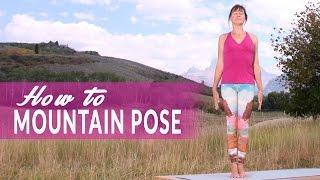 How To Mountain Pose or Tadasana with Neesha Zollinger
