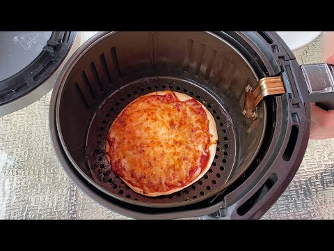 Air Fryer Tortilla Pizza | Easy 3-Ingredient 5-Minute Pizza Recipe