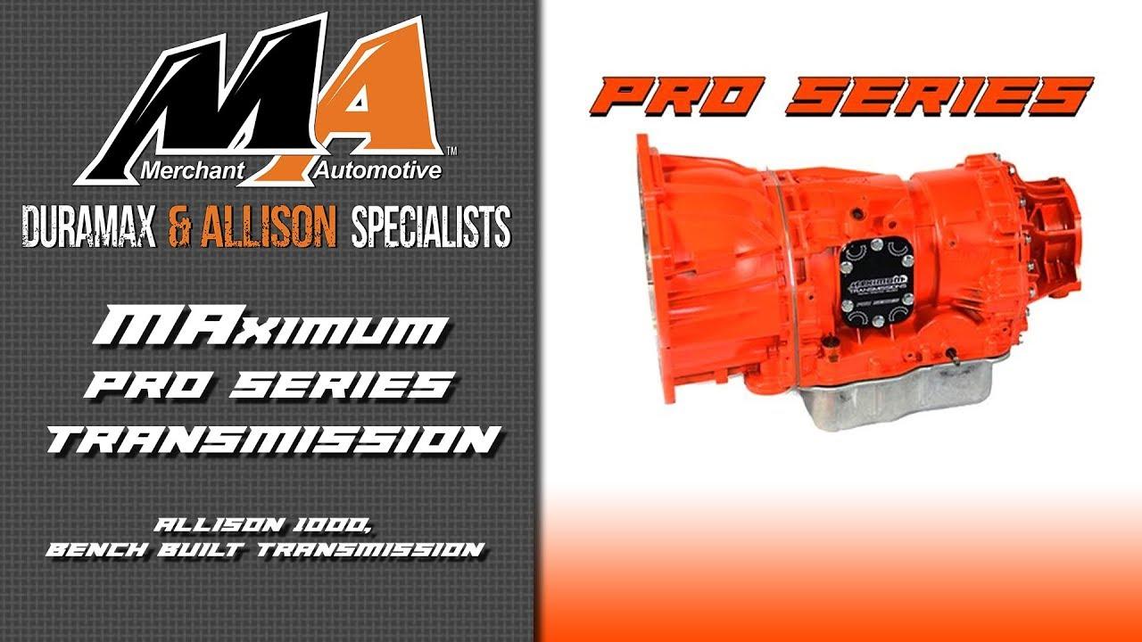 Product Spotlight: MAximum Pro Series Transmission, Allison 1000