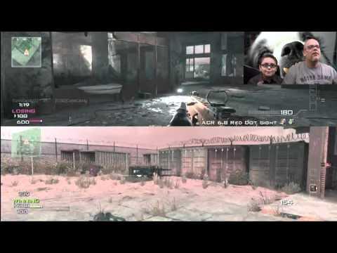 1v1 Spaz Gamer vs. Spaz Kid | MW3 Gameplay Commentary | The Old Man Gets Slapped Around!