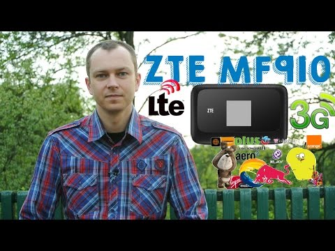 Mobilny modem i router na kartę SIM ZTE MF910