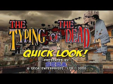 Dreamcast: The Typing of the Dead! Quick Look - YoVideogames