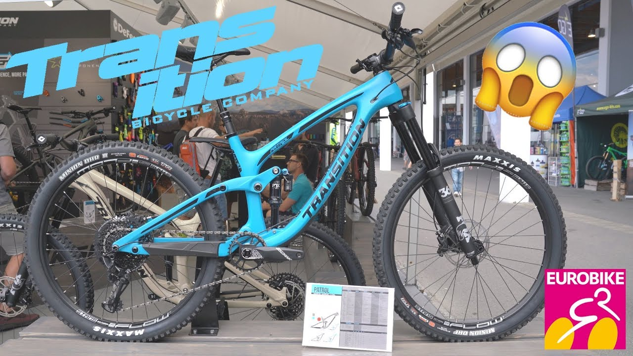 New Transition Bikes 2019 Patrol Smuggler Sentinel