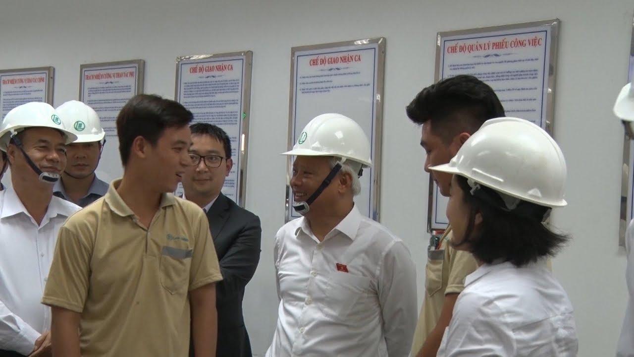 Phó Chủ tịch Quốc hội Uông Chu Lưu thị sát Nhà máy giấy Lee & Man