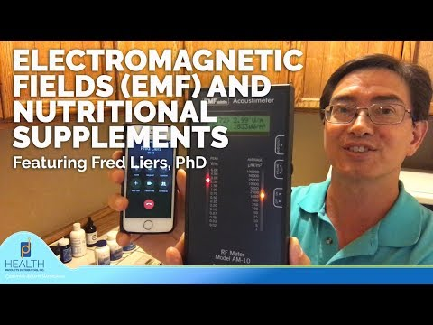 ELECTROMAGNETIC FIELDS (EMF) AND NUTRITIONAL SUPPLEMENTS