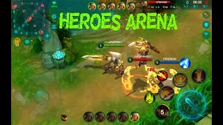 ☆NEW MOBA 5vs5 FOR ANDROID☆ Heroes Arena ☆New moba game 2017 ...
