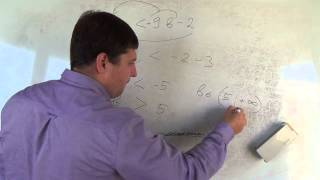 Алгебра 9 класс. 21 сентября. решение линейных неравенств #3