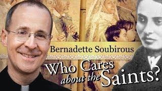 Saint Bernadette Soubirous of Lourdes from