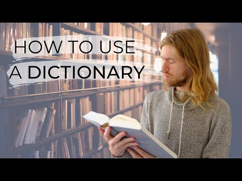 THE DICTIONARY SERIES 2 - Understanding your DUTCH dictionary!