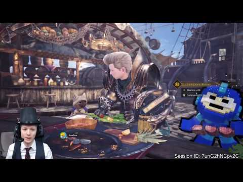Monster Hunter World [PS4 Pro] Part 58 - HR 126+ Farming that Goldilocks - I could use some help :D