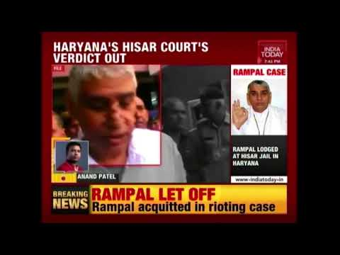 Haryana Court Acquits Godman, Rampal In Murder Case