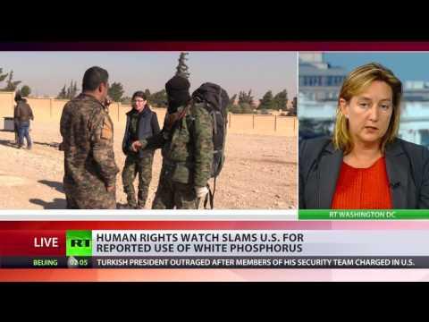'High risk of horrific & long-lasting harm': HRW slams US for use of white phosphorus