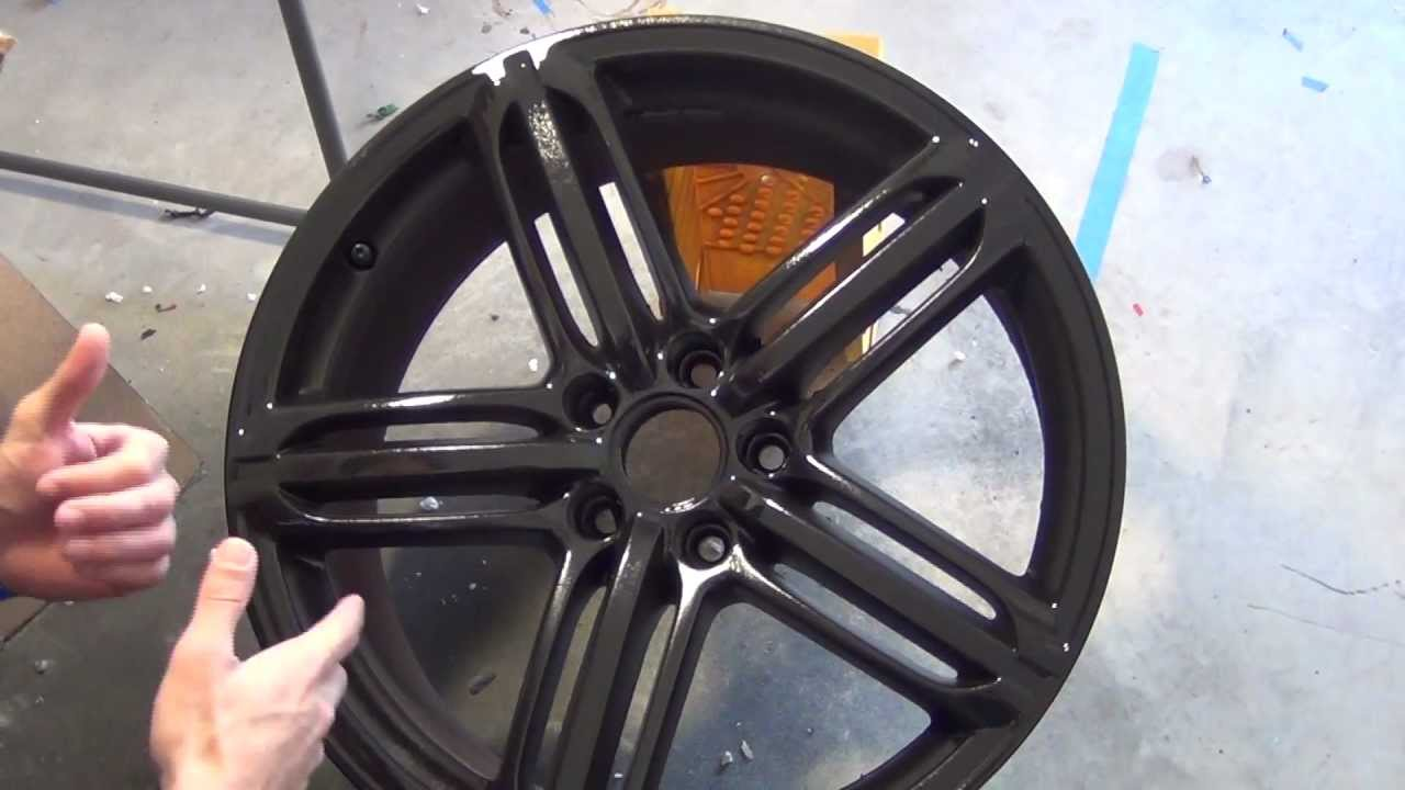 Plastidip Glossifier Over Black Rims How To From