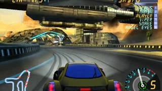 gameplay sur final drive: nitro