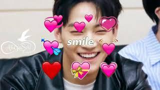 You so precious when you smile - JB GOT7