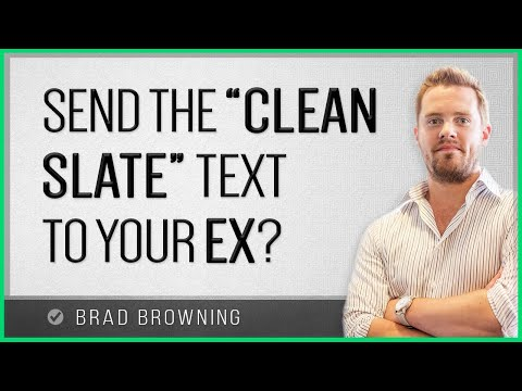 The Clean Slate... Text? (The Clean Slate Email's Evil Twin)
