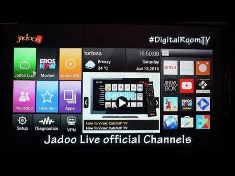 Jadoo Tv 4 - Complete Channels List & Review 2016