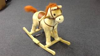 Rocking Horse Video Great Gift For Toddlers