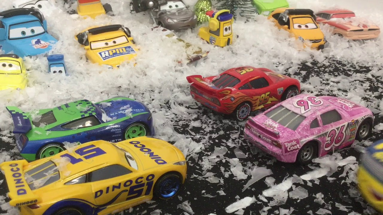 cars 3 random adventures snow race youtube. Black Bedroom Furniture Sets. Home Design Ideas