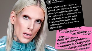 Jeffree Star DROPPED BY Morphe because of THIS...