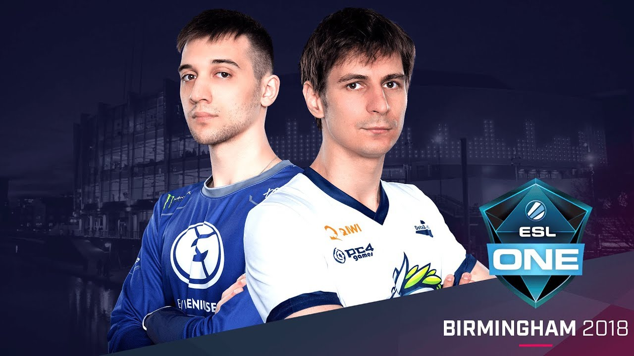 Dota  Eg Vs Team Spirit Game  Group A Elimination Match Esl One Birmingham