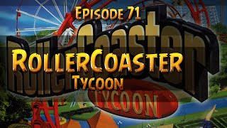 RollerCoaster Tycoon Corkscrew Follies Gameplay Walkthrough Part 71 Three Monkeys Park [1/2]