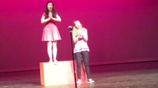 Lindsay and Libby performing If Mama Was Married