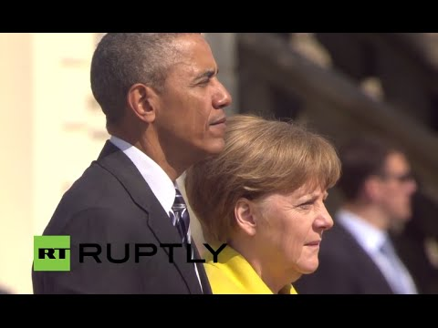 LIVE: Obama and Merkel inaugurate Hannover Messe 2016