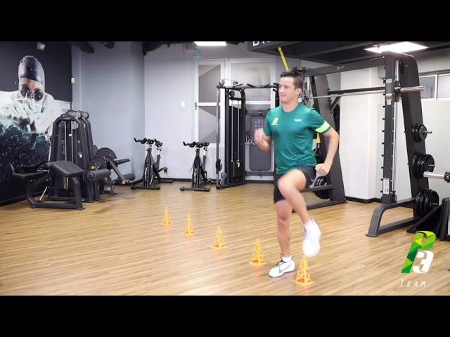 Ejercicios de técnica de atletismo