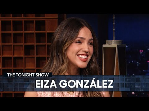Eiza González Auditioned for Robert Rodriguez in a Wedding Dress | The Tonight Show
