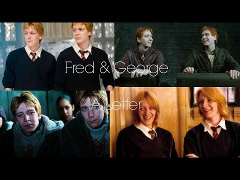 dear fred / fred & george {harry potter}