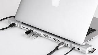 UGREEN Dock Station for Macbook/Ultrabook,5*USB 3.0,DVI,VGA,HDMI