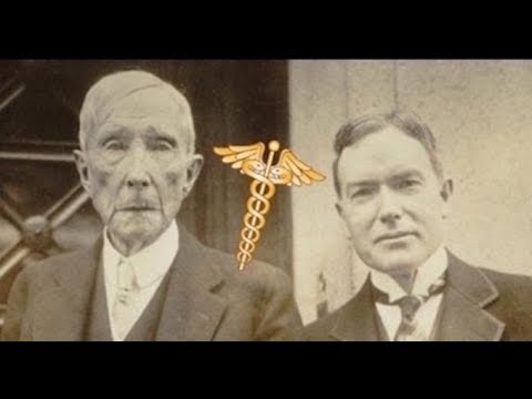 How Rockefeller FOUNDED 'Big Pharma' & waged WAR on NATURAL cures!