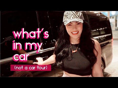 WHAT'S IN MY CAR 🚘 ( NOT A CAR TOUR) 😝