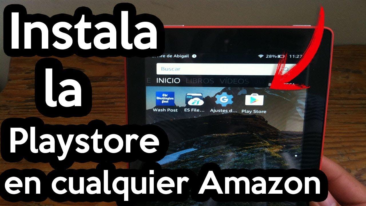 como descargar play store en tablet