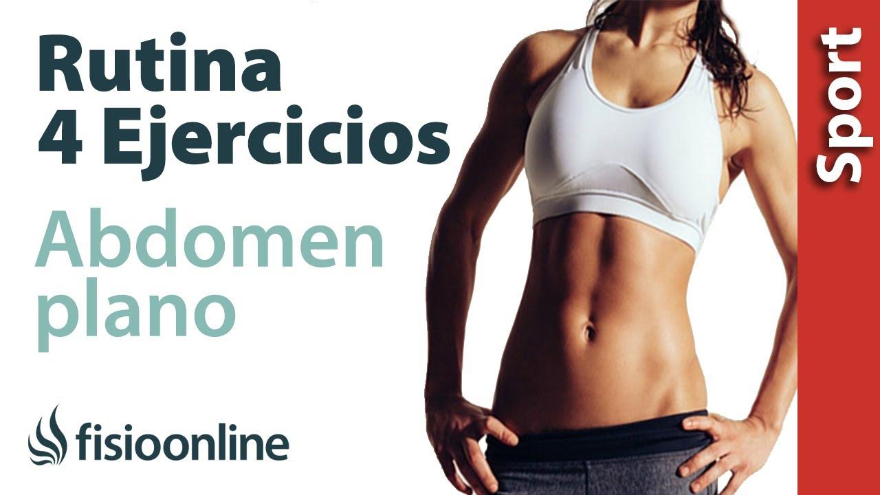 metodos para bajar el abdomen