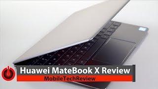 Huawei MateBook X Review - the Better MacBook