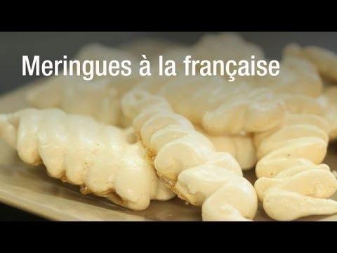 Recette de meringues à la française