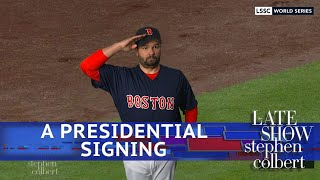Will The Red Sox Go To The White House?