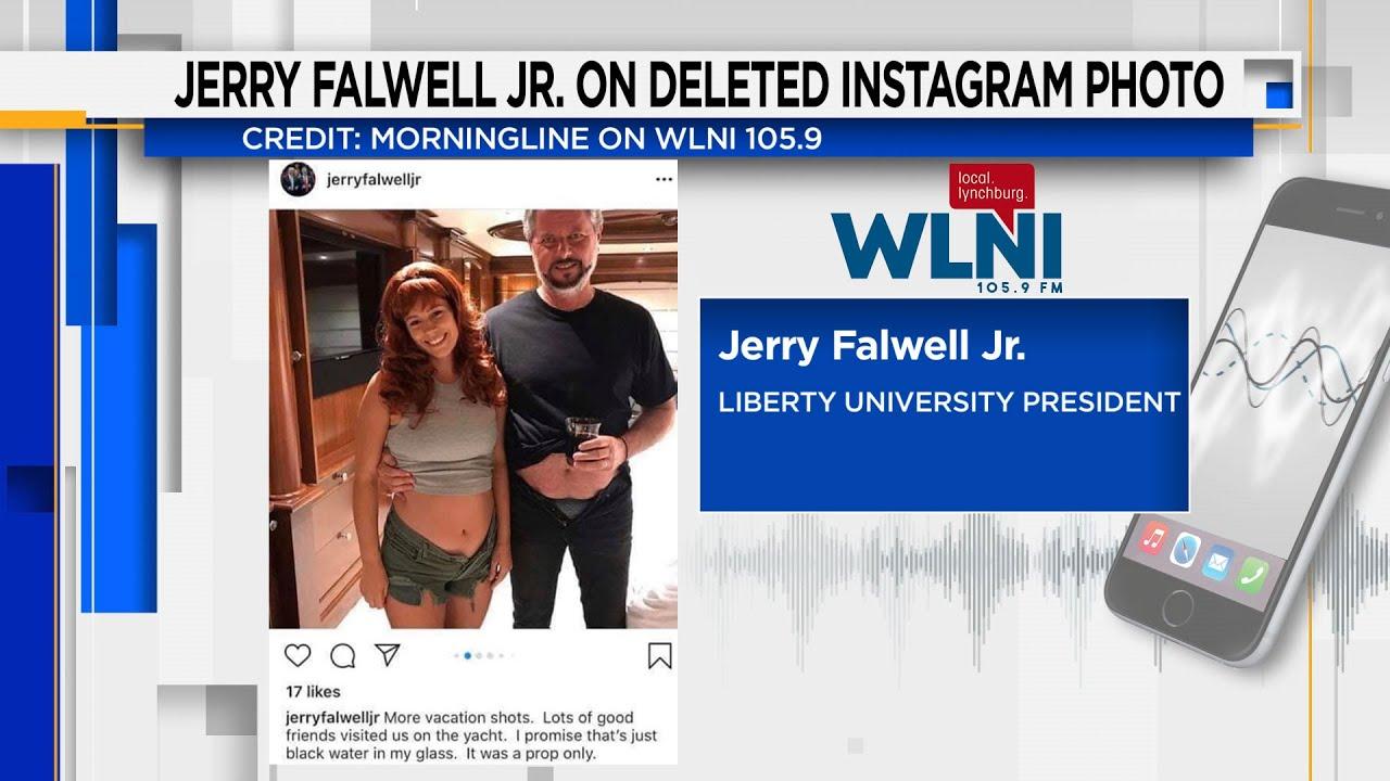 Jerry Falwell Jr. addresses deleted unzipped pants ...